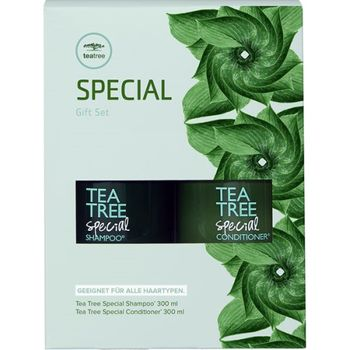 Paul Mitchell Tea Tree Special Gift Set Duo - Shampoo 300ml + Conditioner 300ml