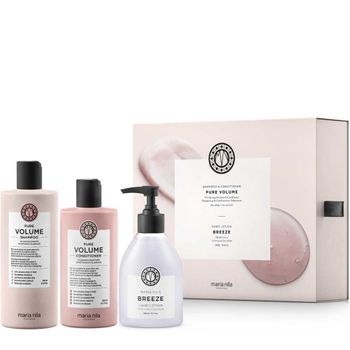 Maria Nila Pure Volume Geschenkset - Shampoo 350 ml + Conditioner 300 ml +  Handlotion gratis – Bild 1