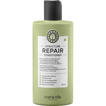 Maria Nila Structure Repair Set - Shampoo 350 ml + Conditioner 300 ml + Handlotion gratis – Bild 4