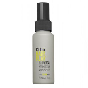 KMS Hairplay Sea Salt Spray 75ml - Reisegröße
