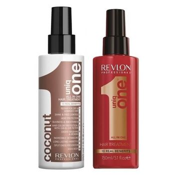 Revlon Uniq One Set All In One Coconut Hair Treatment 150ml + Hair Treatment 150ml