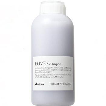 Davines Essential Haircare Love Smooth Shampoo 1000 ml + Pumpe
