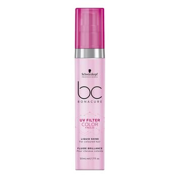 Schwarzkopf BC pH 4.5 Color Freeze UV Filter Liquid Shine 50ml