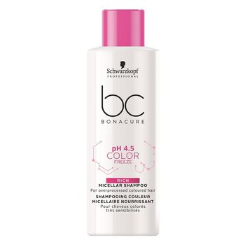 Schwarzkopf BC pH 4.5 Color Freeze Micellar Rich Shampoo 50ml