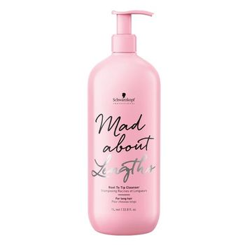 Schwarzkopf Mad About Lenghts Root To Tip Cleanser 1000ml - Shampoo