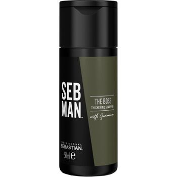 Sebastian SebMan The Boss Thickening Shampoo 250 ml + The Booster Tonic 100 ml + The Boss Thickening Shampoo 50 ml gratis – Bild 4