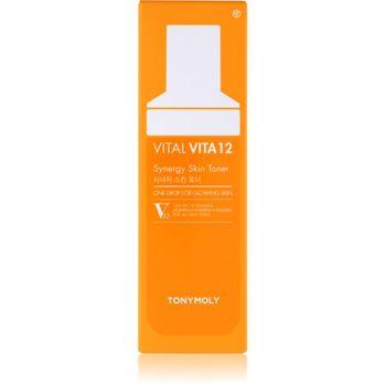 TonyMoly Vital Vita 12 Synergy Skin Toner 50 ml - Gesichtswasser – Bild 2