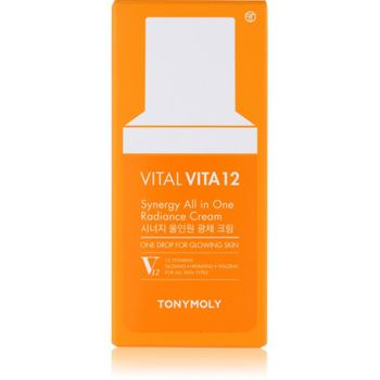 TonyMoly Vital Vita 12 All in One Radiant Cream 40 ml - Anti-Aging Creme  – Bild 2
