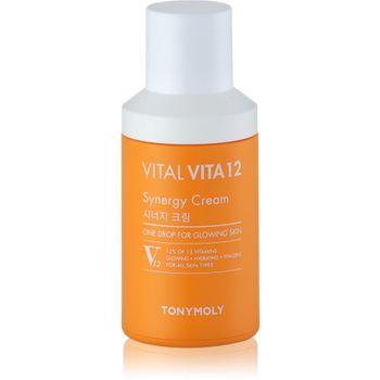 TonyMoly Vital Vita 12 Synergy Cream 50 ml - Feuchtigkeitscreme – Bild 1