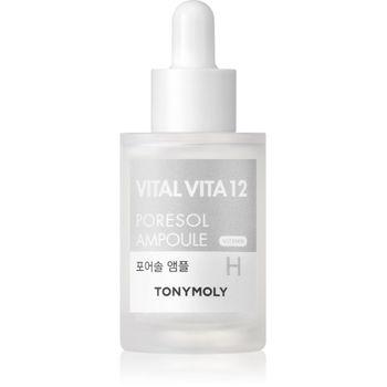 TonyMoly Vital Vita 12 Pore Refinning Ampoule 30 ml - Porenpflege – Bild 1