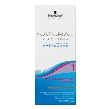 Schwarzkopf Natural Styling Glamour Wave Kit 1 - 80ml + 100ml
