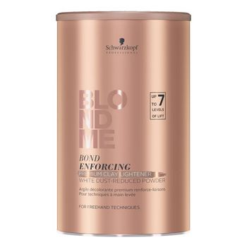 Schwarzkopf Blondme Bond Enforcing Premium CLAY Lightener 7+ Aufheller 350g