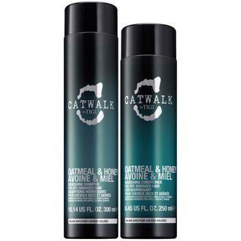 Tigi Catwalk Oatmeal & Honey Geschenkset - Shampoo 250 ml + Conditioner 200 ml