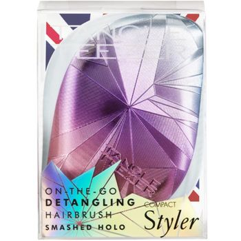 Tangle Teezer Compact Styler Holo Edition Smashed Holo Blue – Bild 3