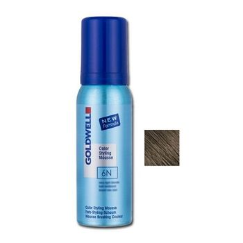 Goldwell Color Styling Mousse 6N - 75ml - Fönschaum dunkelblond