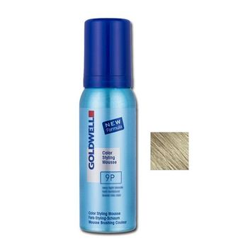Goldwell Color Styling Mousse 9P - 75ml - Fönschaum perlsilber
