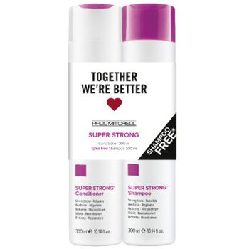 Paul Mitchell Super Strong Conditioner 300 ml + free Shampoo 300 ml