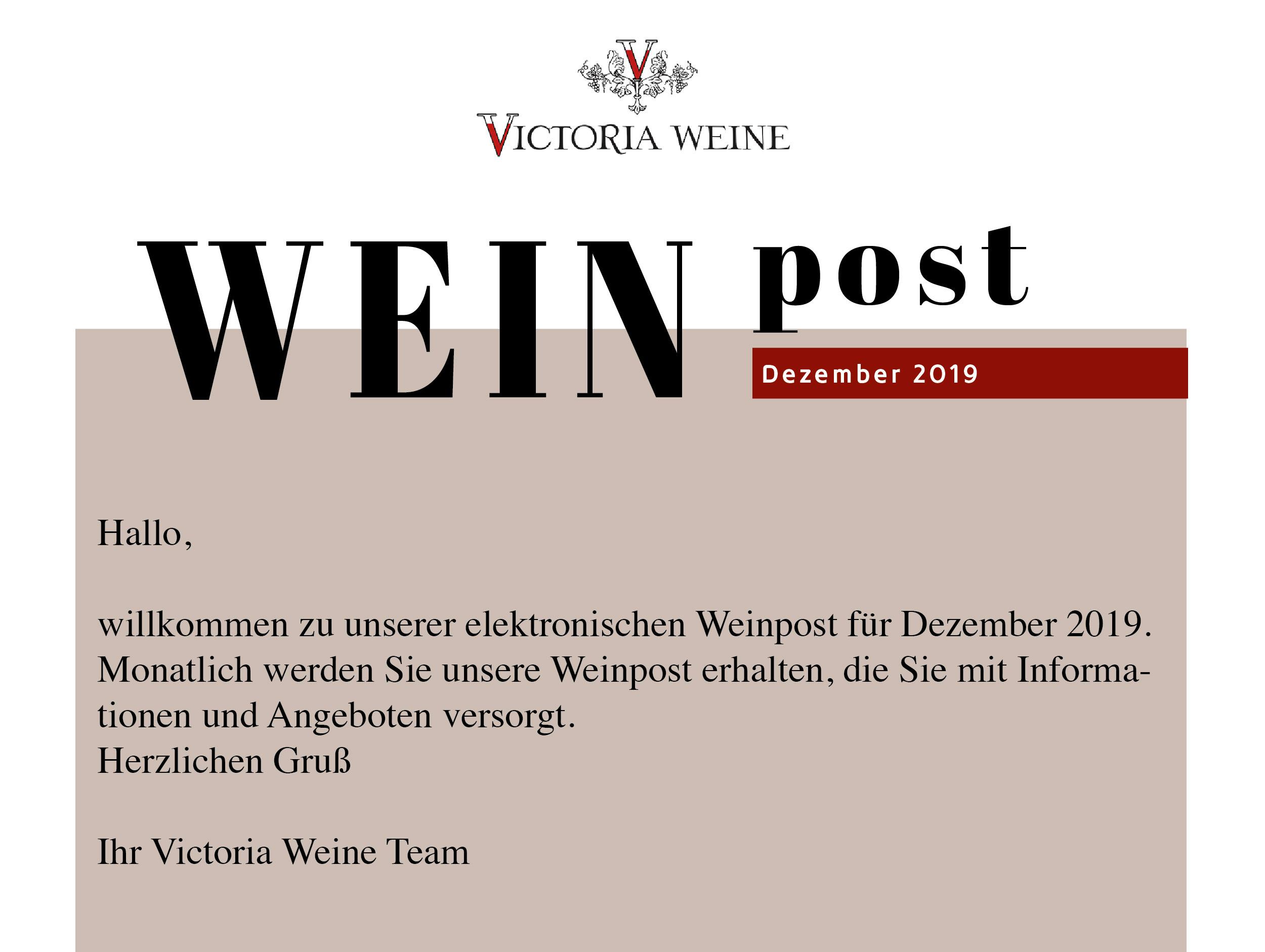 Victoria Weine