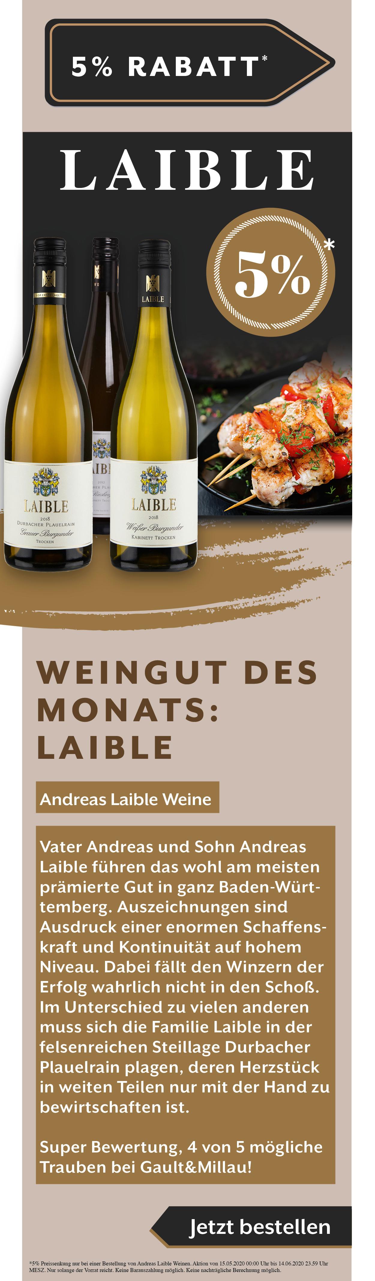 Andreas Laible Weine Weißwein Angebot