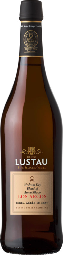 Sherry Medium Dry Amontillado Los Arcos - Emilio Lustau - Sherry