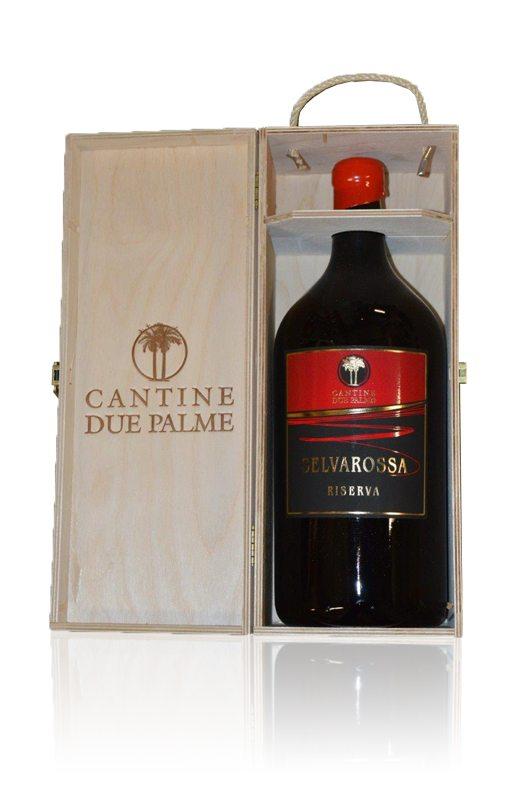Selvarossa Riserva Salice Salentino Rosso Doppelmagnum - Cantine due Palme - Rotwein