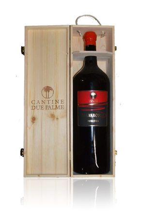 Selvarossa Riserva Salice Salentino Rosso 5,0 Liter- Cantine due Palme - Rotwein