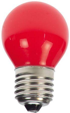 LED Tropfen Glühlampe E27 230V rot