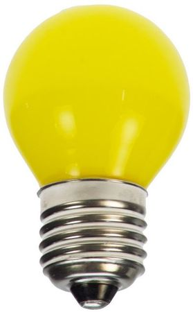 LED Tropfen Glühlampe E27 230V gelb