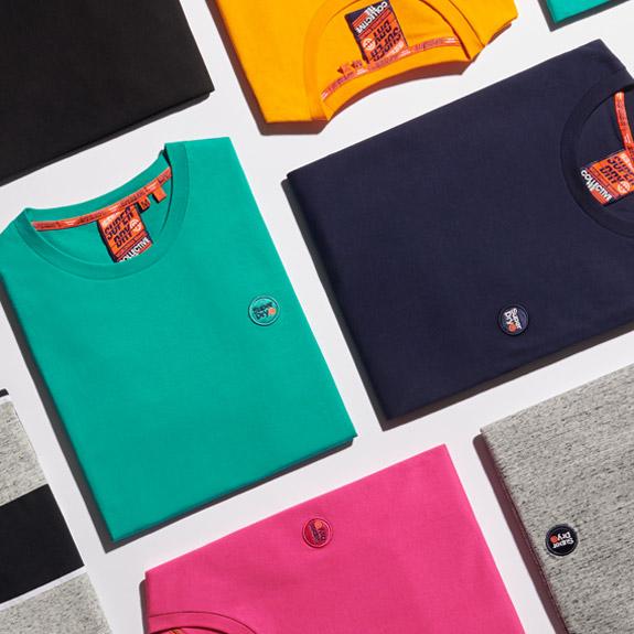 Herren T-Shirts Superdry