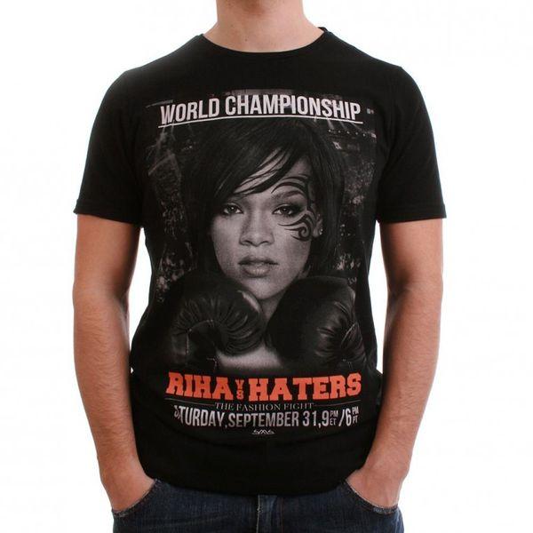 SMS Simple Makes Sense T-Shirt Men - RIHA VS HATERS - Black – Bild 1