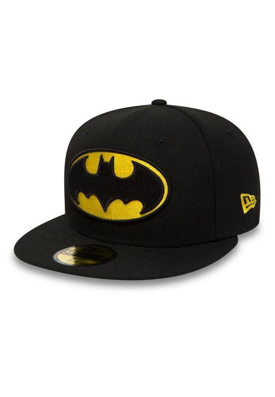 New Era DC Comics 59Fiftys Cap - BATMAN - Black Ansicht