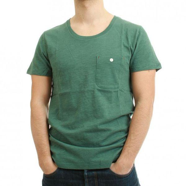 Minimum T-Shirt Men - HARLAN - Pine Blue – Bild 1