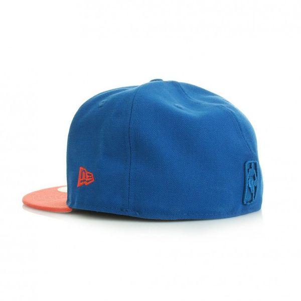 New Era 59Fiftys Team Pop Tonal Cap - NEW YORK KNICKS - Blue-Ora – Bild 2