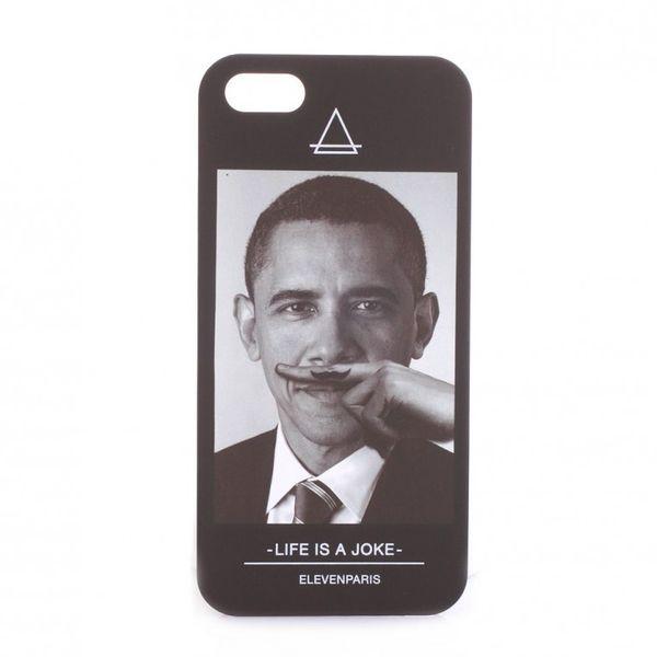 Eleven Paris iPhone Schutzhülle - OBAMA IPHONE 5 - Black Ansicht