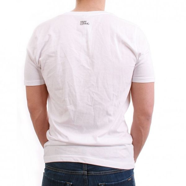 HAM CLTHNG T-Shirt Men - NO.8 HAMHAM - White – Bild 2