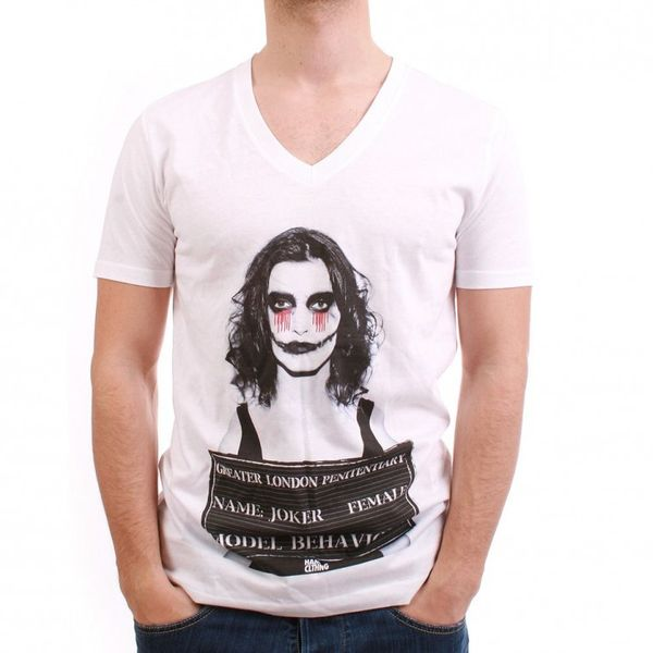 HAM CLTHNG T-Shirt Men - FEMALE JOKER - White – Bild 1