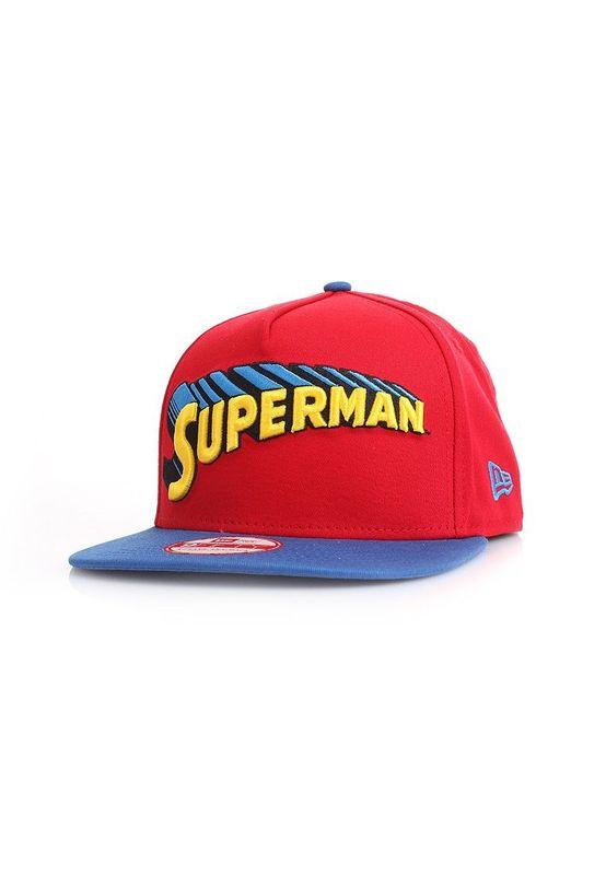 New Era Reverse Classic Snapback - SUPERMAN - Scarlet-Blue – Bild 1
