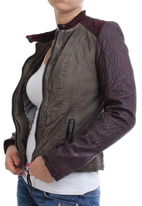 Maze Jacke Women - WELLS - Grey-Purple – Bild 3