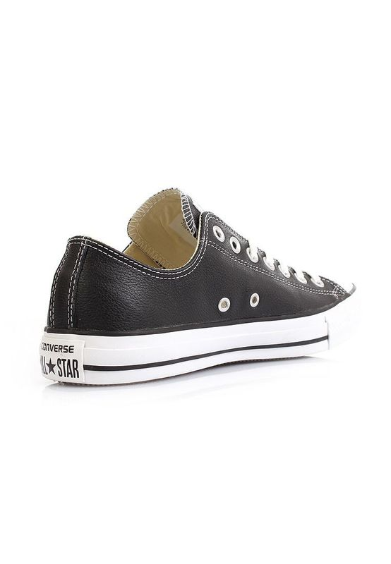 Converse Lederchucks - CT OX 132174C - Black – Bild 3