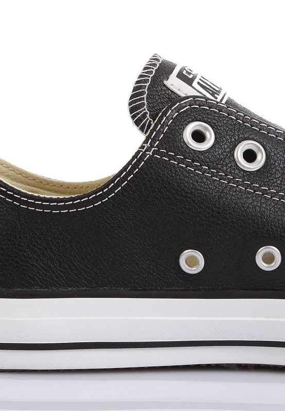 Converse Lederchucks - CT OX 132174C - Black – Bild 4