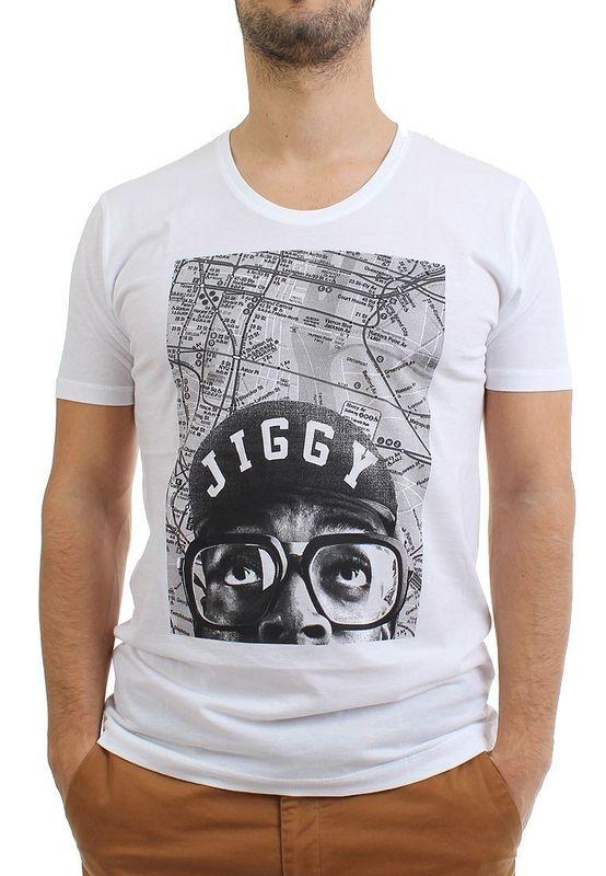 Be Famous T-Shirt Men - JIG B - White – Bild 1