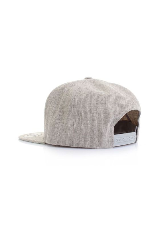 Be Famous Snapback - HEYBRO - Heather Grey – Bild 2