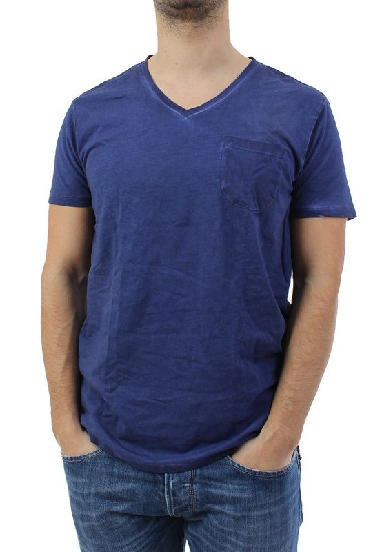 Scotch & Soda T-Shirt Men - 1401-01.51108 - Indigo #54 – Bild 1