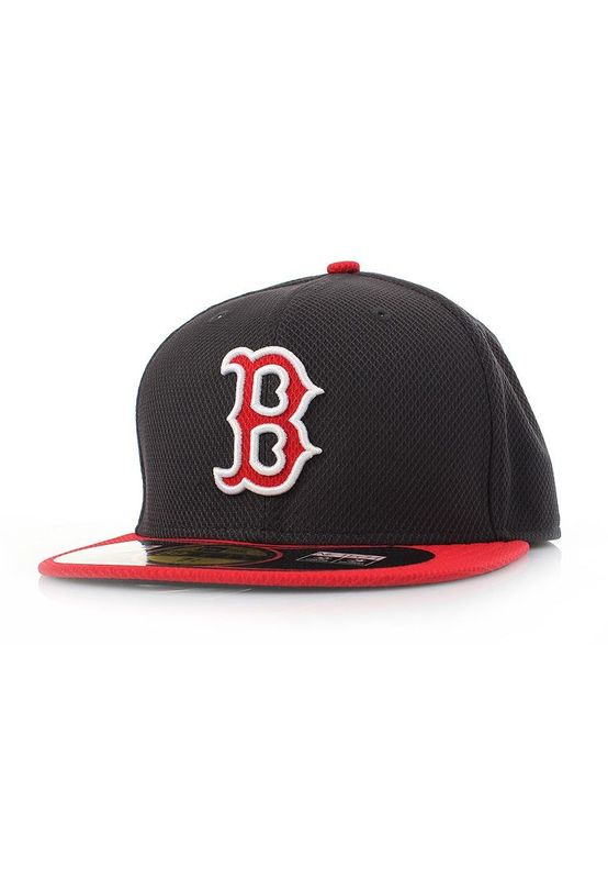 New Era Authentics Diamond Cap - BOSTON RED SOX - Navy-Red – Bild 0