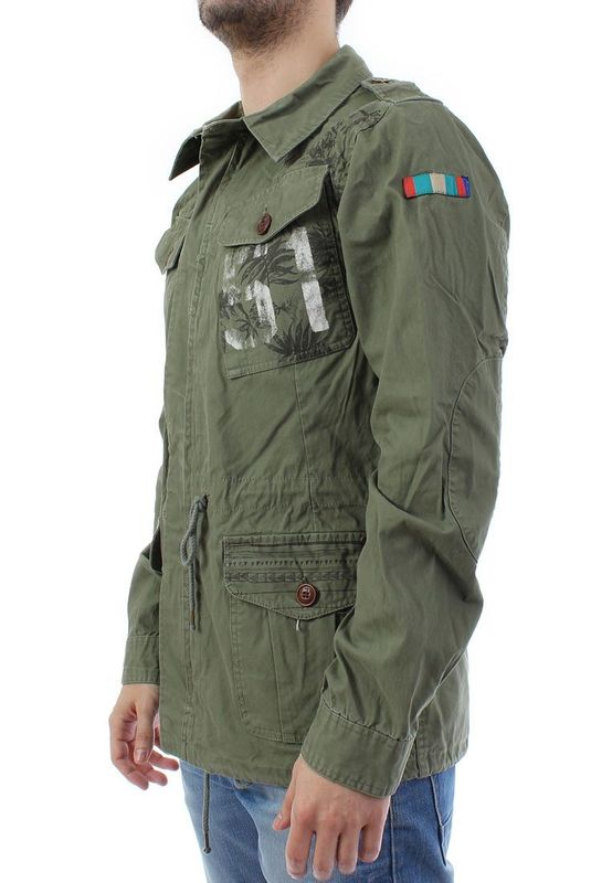 Scotch & Soda Parka Men - 1401-02.10025 - Military #65 – Bild 3
