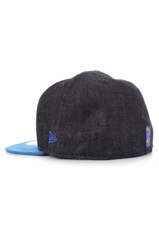 New Era Densuede Denim Cap - NY KNICKS - Blue-Royal – Bild 2
