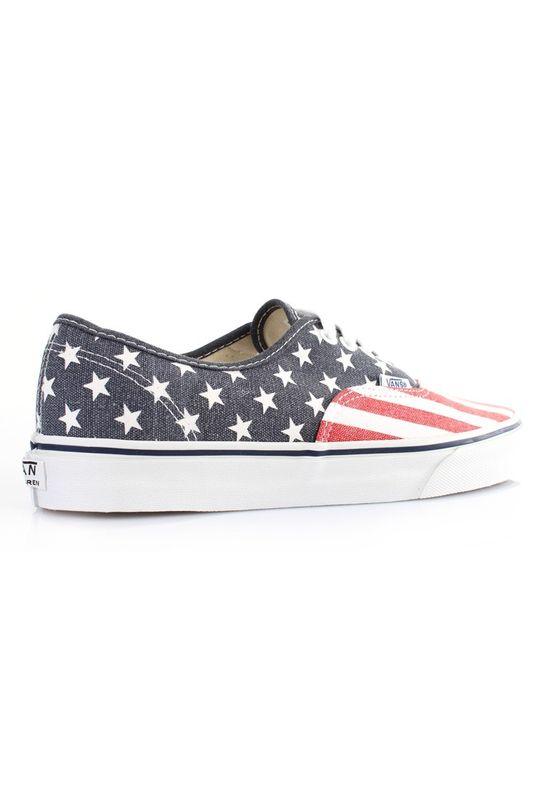 Vans Schuhe - AUTHENTIC - Van Doren Stars & Stripes – Bild 4