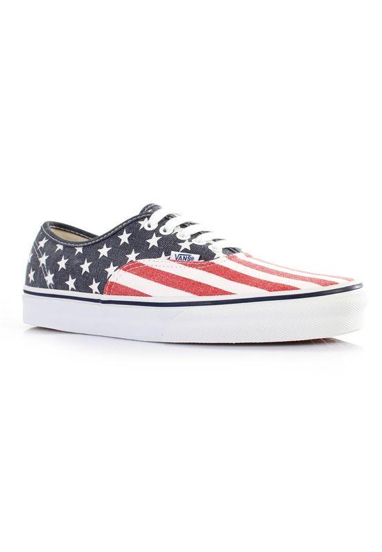 Vans Schuhe - AUTHENTIC - Van Doren Stars & Stripes – Bild 3