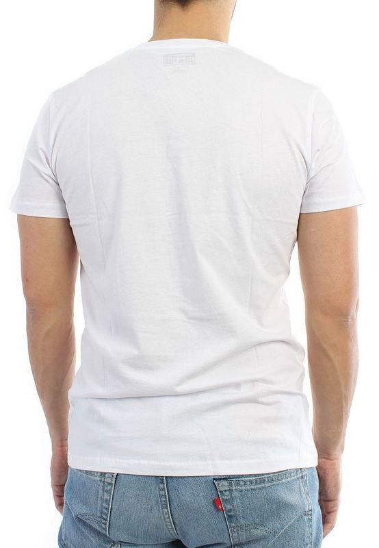 Converse T-Shirt Men - AMT ARCH 06911C - Optic White – Bild 2