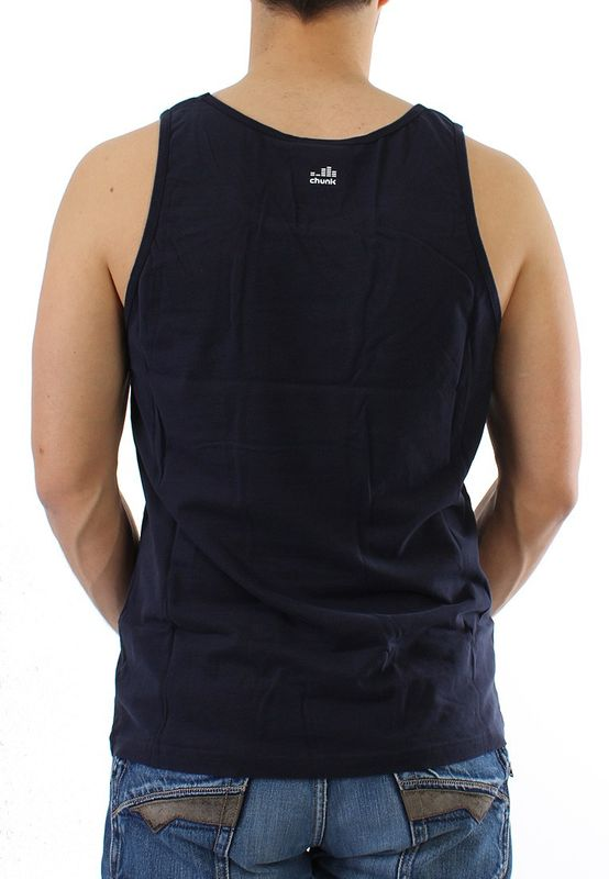 Chunk Tank Men - HIP HOP ROYALITY - Navy – Bild 1